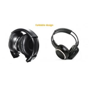 Sluchátka k hlavovým opěrkám - bezdrátová A/B chanel