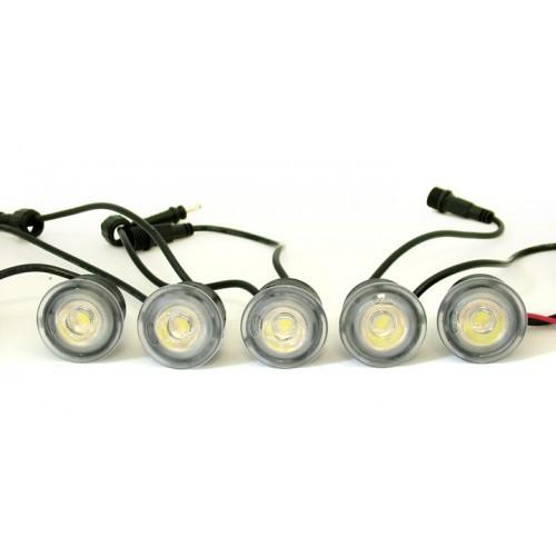 Světla pro automatické denní svícení s LED - DRL 502 FLEXI